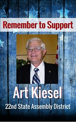 Remember to Support Art Kiesel